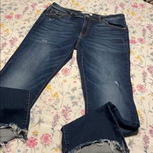 KanCan dark wash jeans.  Size 30